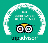 Hall of Fame - Certificate of Excellence 2019